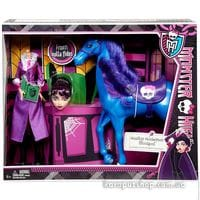 Кукла Monster High Директриса Бладгуд и конь Кошмар