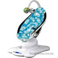 Кресло-качалка 4moms MamaRoo Blue Plush bee ecru