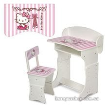 Детская парта Растишка W 301-2 Hello Kitty