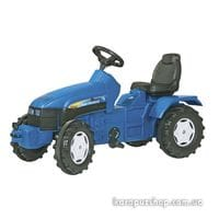 Трактор Педальный New Holland Rolly Toys 36219