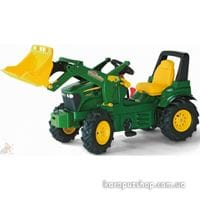 Трактор Педальный Junior John Deere Rolly Toys 811076
